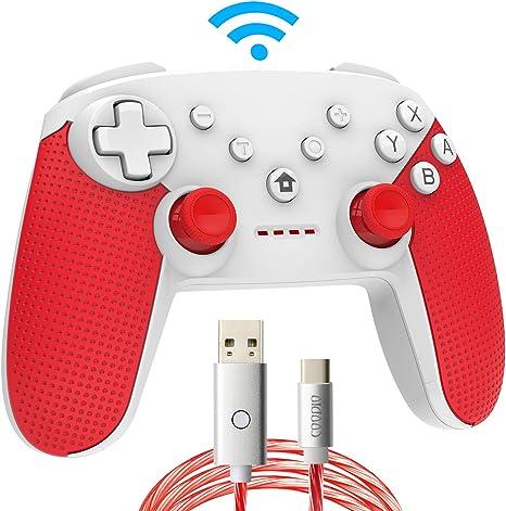 COODIO Mando Pro Para Nintendo Switch, Mando Inalámbrico Switch ...