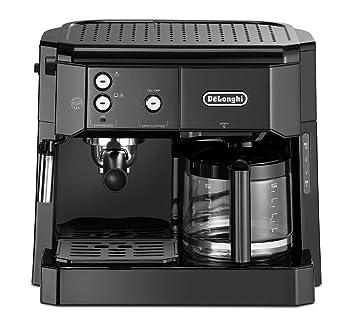 DeLonghi BCO 411.B Cafetera combinada, independiente, totalmente automática, 1750 W,