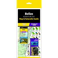 Belize Adventure Set: Travel Map & Wildlife Guide