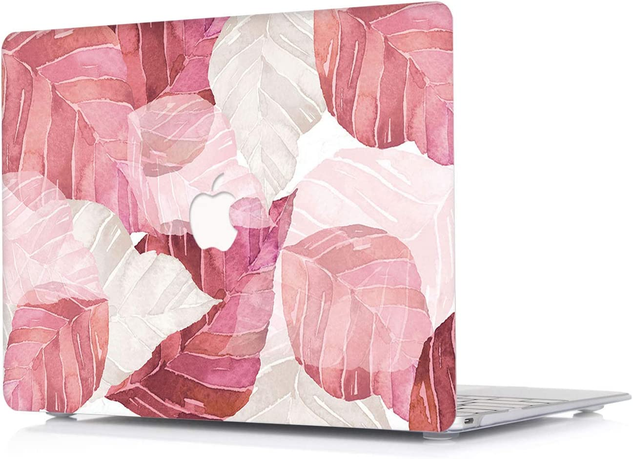 L2W MacBook Air 13 Inch Case Model: A1369/A1466 (Release 2010-2017) - [Leaf Pattern Series] Plastic Laptop Ultra Slim Protective Hard Shell Case for MacBook Air 13 - DC16