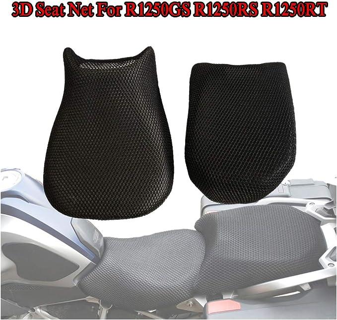 R1250GS Housse de si/ège en Maille de Moto Garde de Coussin Isolation /étanche Filet Respirant pour BMW R1250GS ADV R1250RT R1250RS 2019 GS1250