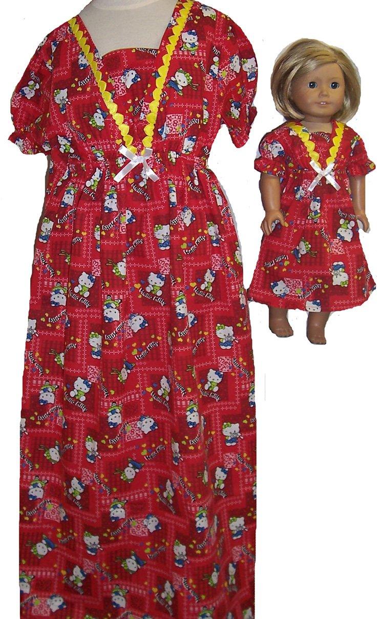 サイズ8レッドKitty With With Matching人形Nightgown B00ZOAPWRW B00ZOAPWRW, TANGLE TEEZER JAPAN:5fd06fd8 --- arvoreazul.com.br