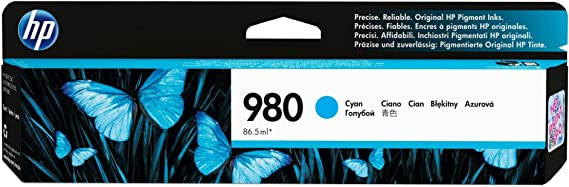 See 2nd Bullet Point for Compatible Machines D8J07A Cyan CNY Toner 3 Packs Compatible Ink Cartridge Replacement for HP 980 Cyan