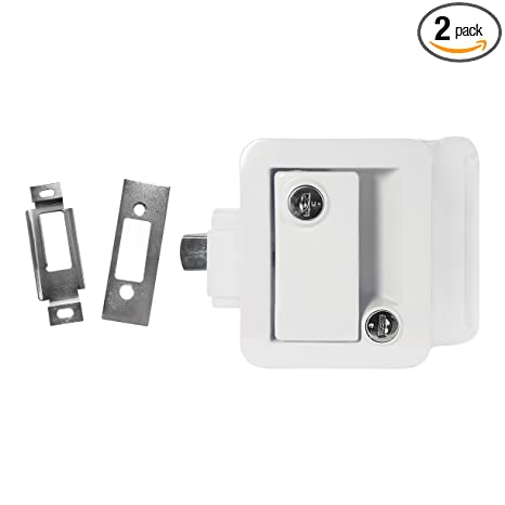 Amazon White Rv Paddle Door Handle Rv Door Lactch Entry