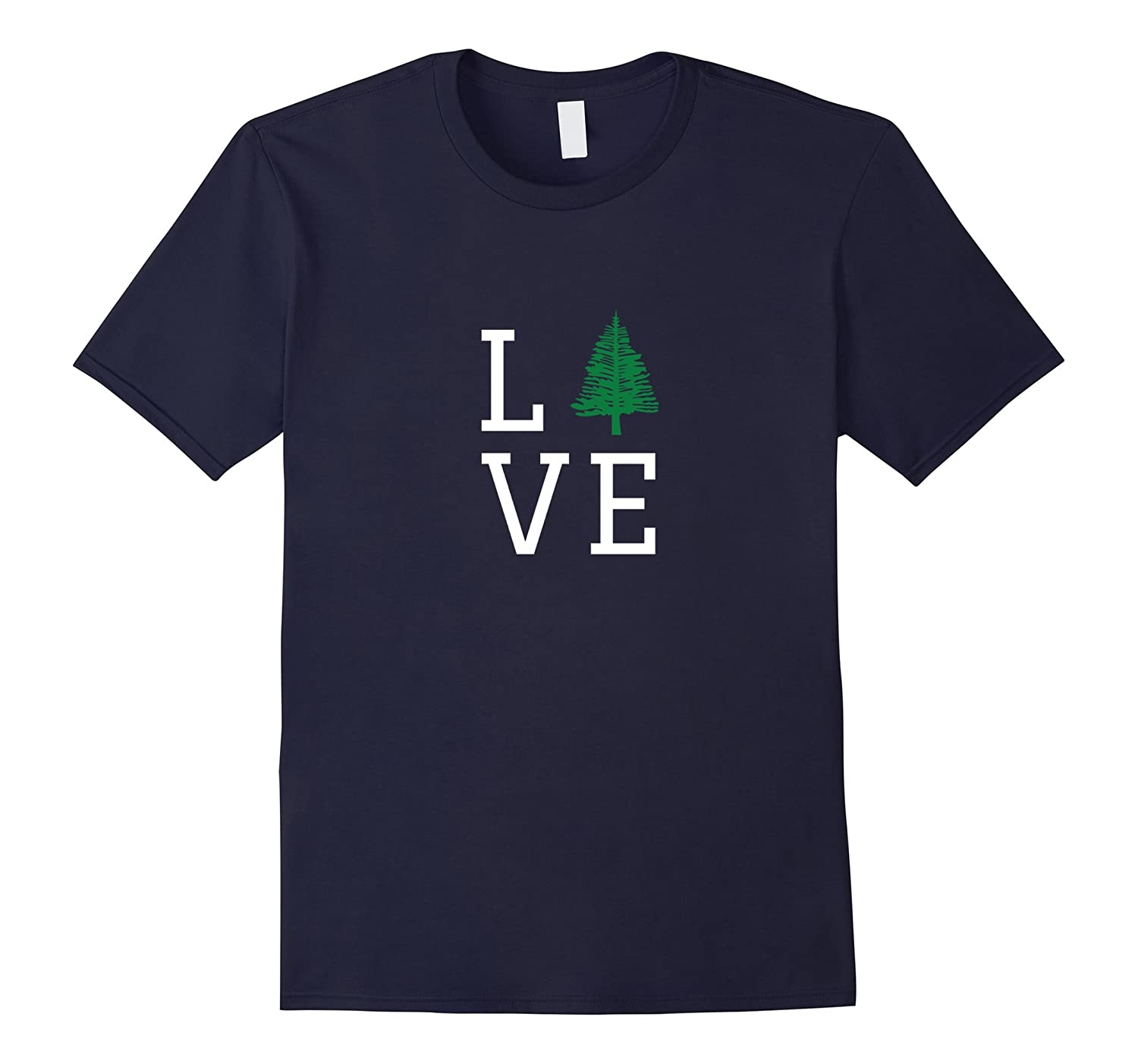 LOVE The Outdoors T-Shirt - Trees Forrest Camping Hiking-TH
