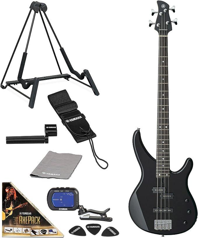 Yamaha TRBX174 bajo eléctrico Guitarra paquete con axepack Pack de accesorios: Amazon.es: Instrumentos musicales