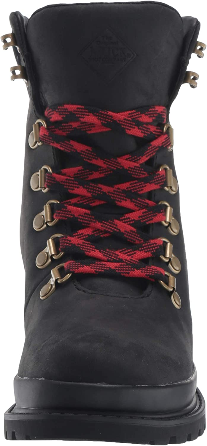 Muck Boots Liberty Alpine taupe leather waterproof lace-up ankle boot