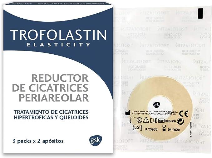 Trofolastín - Reductor de Cicatrices Periareolar - 3 blísteres de ...
