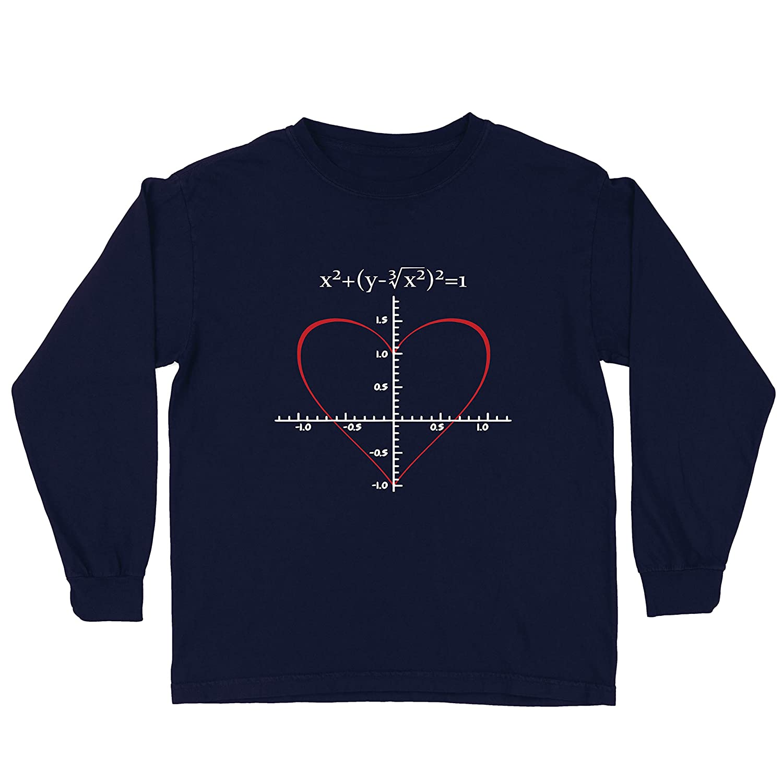 lepni.me T-Shirt Bambini//Ragazze Amore Formula Matematica Formula Matematica Equazione Matematica Regalo Insegnante