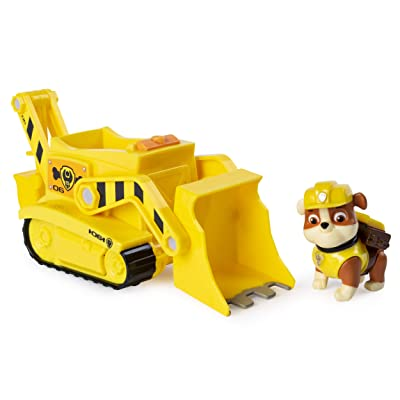 Paw Patrol, Rubble's Transforming Bulldozer with Pop-Out Tools, for Ages 3 and Up: Toys & Games