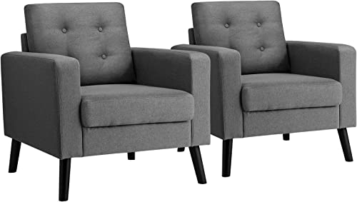 Giantex Set of 2 Modern Accent Chair