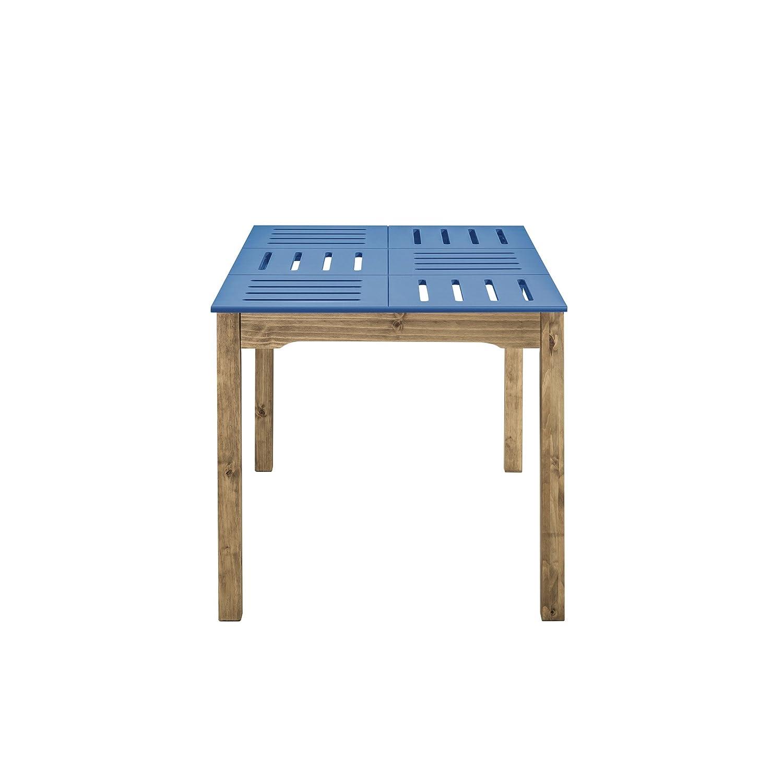 Manhattan Comfort CS106001 Stillwell Dining Table Blue