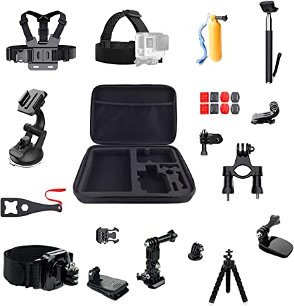 LiDCH dji OSMO Action Accessories Pack,Accessories Kit for GoPro Hero 7/6/5/4 Session Hero (2018) Fusion,16 IN 1 Sports Camera Accessories Kit: Amazon.es: Deportes y aire libre
