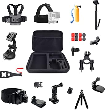 LiDCH dji OSMO Action Accessories Pack,Accessories Kit for GoPro ...