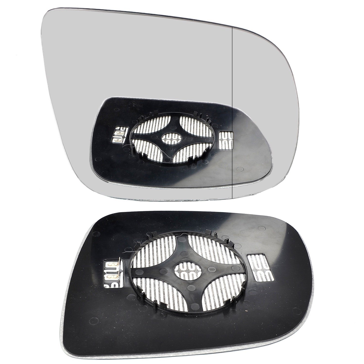 Right Off Driver Side Heated Blind Spot Clip On Door Wing Mirror glass #AuQ509-15-RWAH