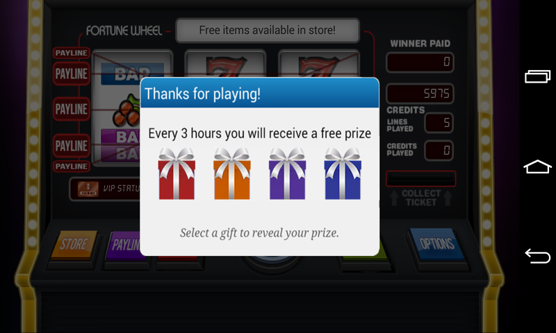 Caesars slots free spins