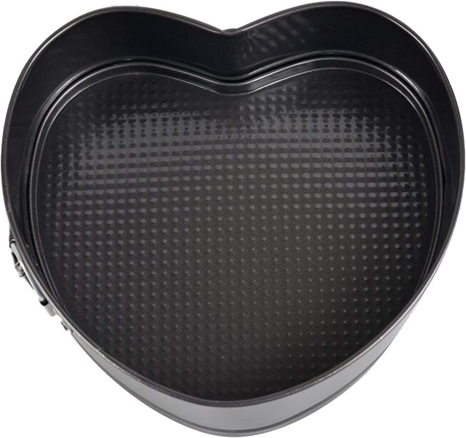 Cake Tin for Baking Heart Shape Non-Stick with Quick Release Spring Form Storage Liner Mold Pans for Wedding Birthday Christmas Sponge Cheese Mousse Red Velvet /& Black Forest Cake
