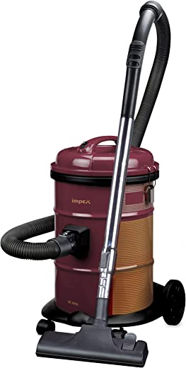 Impex VC-4701 Multi-Purpose Dry Vacuum Cleaner (1600 Watts,Maroon)