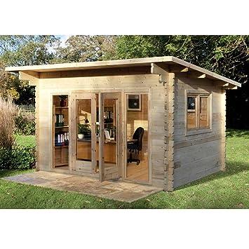 Summer House Office For Melbury Log Cabin 40m 30m Summerhouse Office Studio Garden Retreat