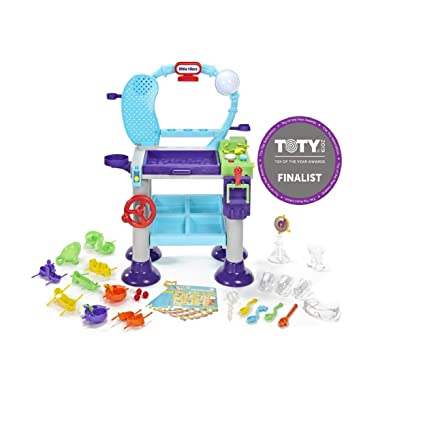 c23f878642 Amazon.com  Little Tikes STEM Jr. Wonder Lab Toy with Experiments for kids   Toys   Games