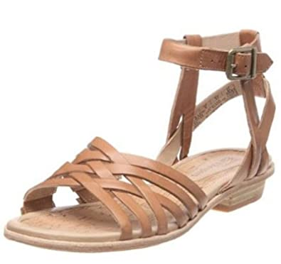 LADIES TIMBERLAND EARTHKEEPERS KATAMA STRAPPY ANKLE TAN LEATHER SANDALS  27637 (UK 3.5)  Amazon.co.uk  Shoes   Bags cf0f94f20abb