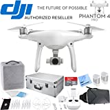 DJI Phantom 4 Pro Quadcopter Drone - CP.PT.000488 - Carrying Case + Virtual Reality Accessory Bundle