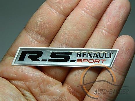 Renault Sport badges Drapeau badge Renault Clio Megane