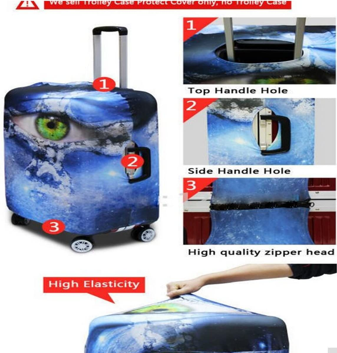 INTERESTPRINT Musical Drum and Percussion Sets Lightweight Carry-on Travel Duffel Bag