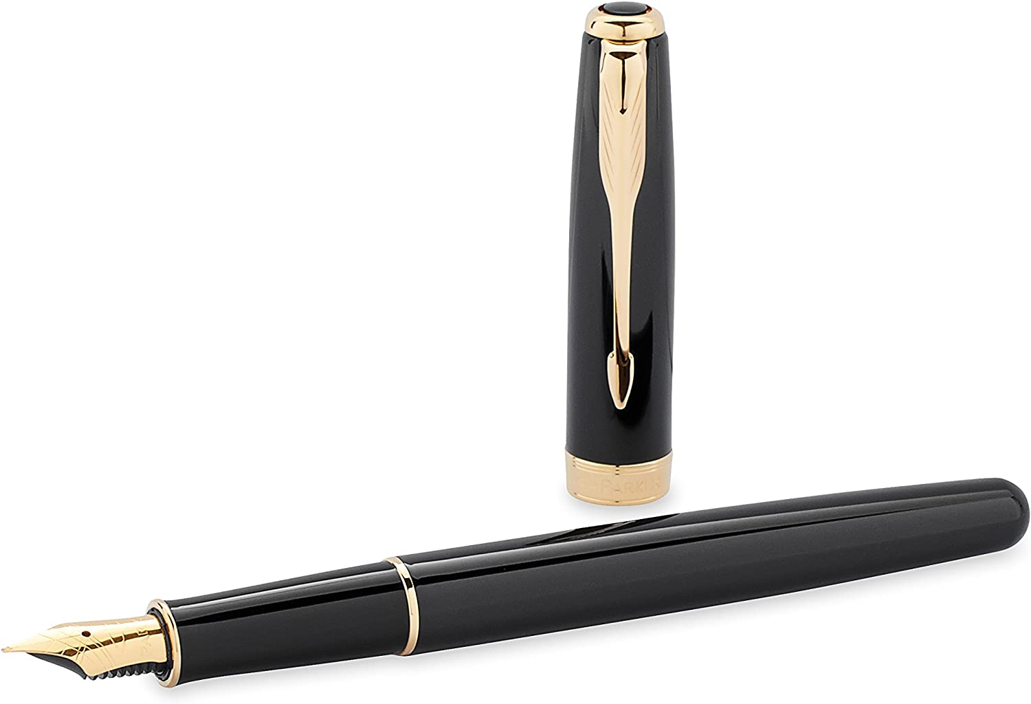 856 Dark Blue Laquered with Gold Plate Ballpoint Pen Jinhao No Blue Refill