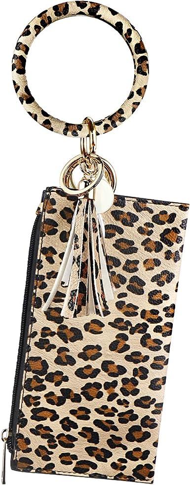 Womens Fabric Wallets Gift Set Chapstick Holder 3 Key Chain Bags Small Wallets For Women Music Teacher Gift