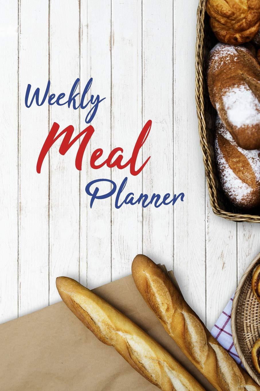 Weekly Meal Planner Food Journal Meal Plan Template 52