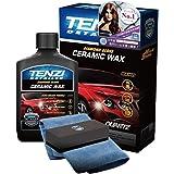 テンジ セラミックワックス一式 [ポリッシャー不要 独自のクォーツセラミック(石英)と最上級カルナバ蝋を配合] カーワックス (Car Wax) 300ml Tenzi Detailer AD-40