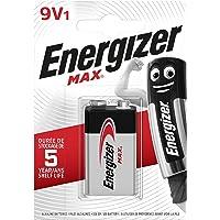 Energizer Alkaline Max - Pack de 1, Alcalina MAX 9V