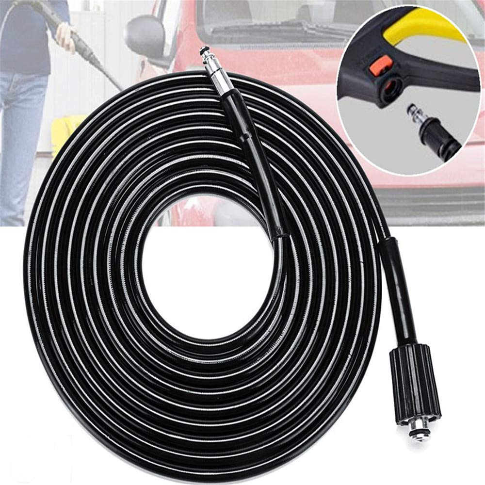 ExcLent 5M High Pressure Washer Hose Pvc Steel Wire Replacement Tube For Black And Decker Pw1500