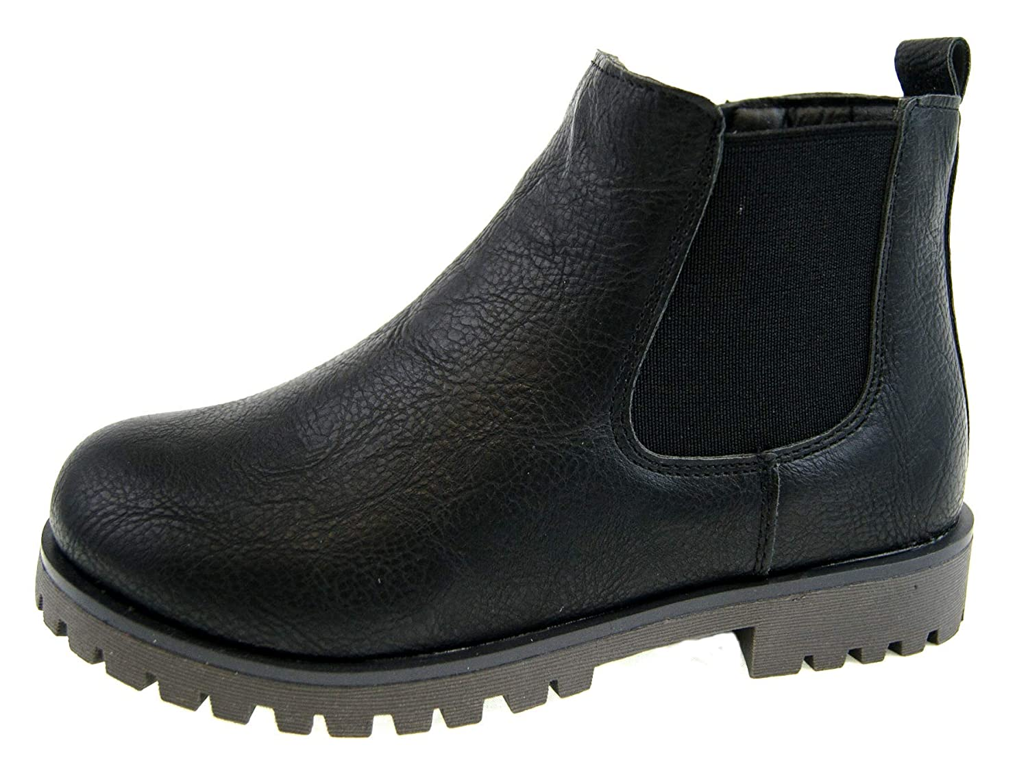 Strong Souls Boys Chelsea Ankle Boots School Shoes