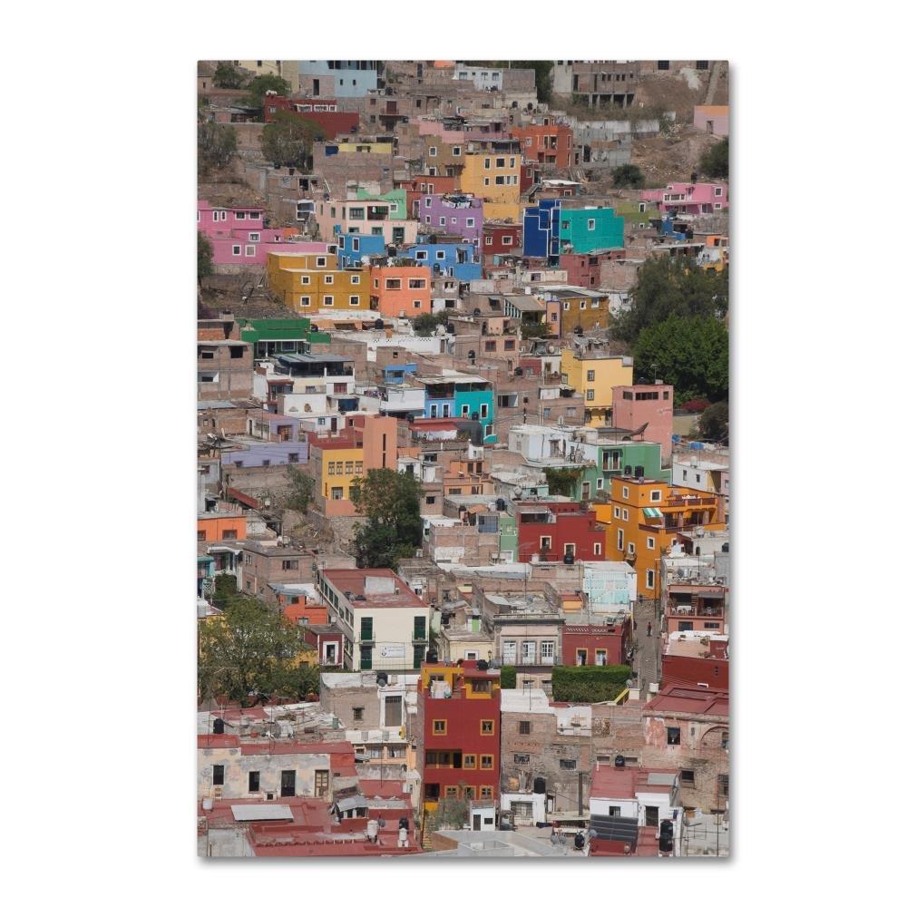 都市景観100 byロバートハーディング画像ライブラリ、16 x 24インチキャンバス壁アート B0762RQ4BF