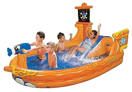 Amazoncom Spring Summer Toys Banzai 9ft Long Ships Ahoy Pirate