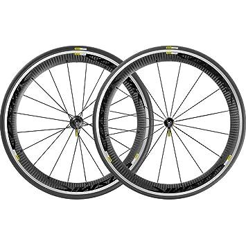 Mavic Cosmic Pro Carbon - Ruedas traseras bicicleta de carretera - negro 2016 Juego de ruedas para bicicleta de carretera: Amazon.es: Deportes y aire libre