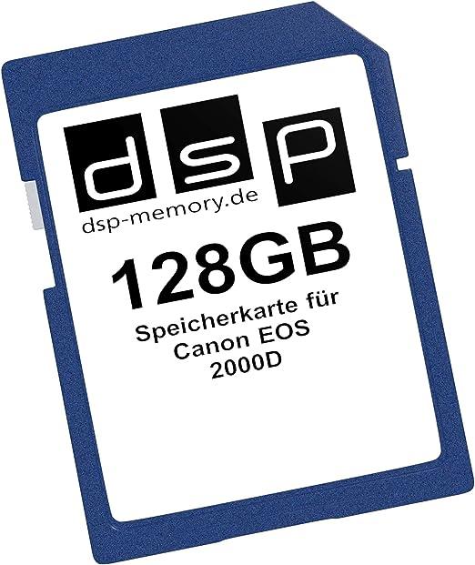 Dsp Memory 128gb Speicherkarte Für Canon Eos 2000d Computer Zubehör