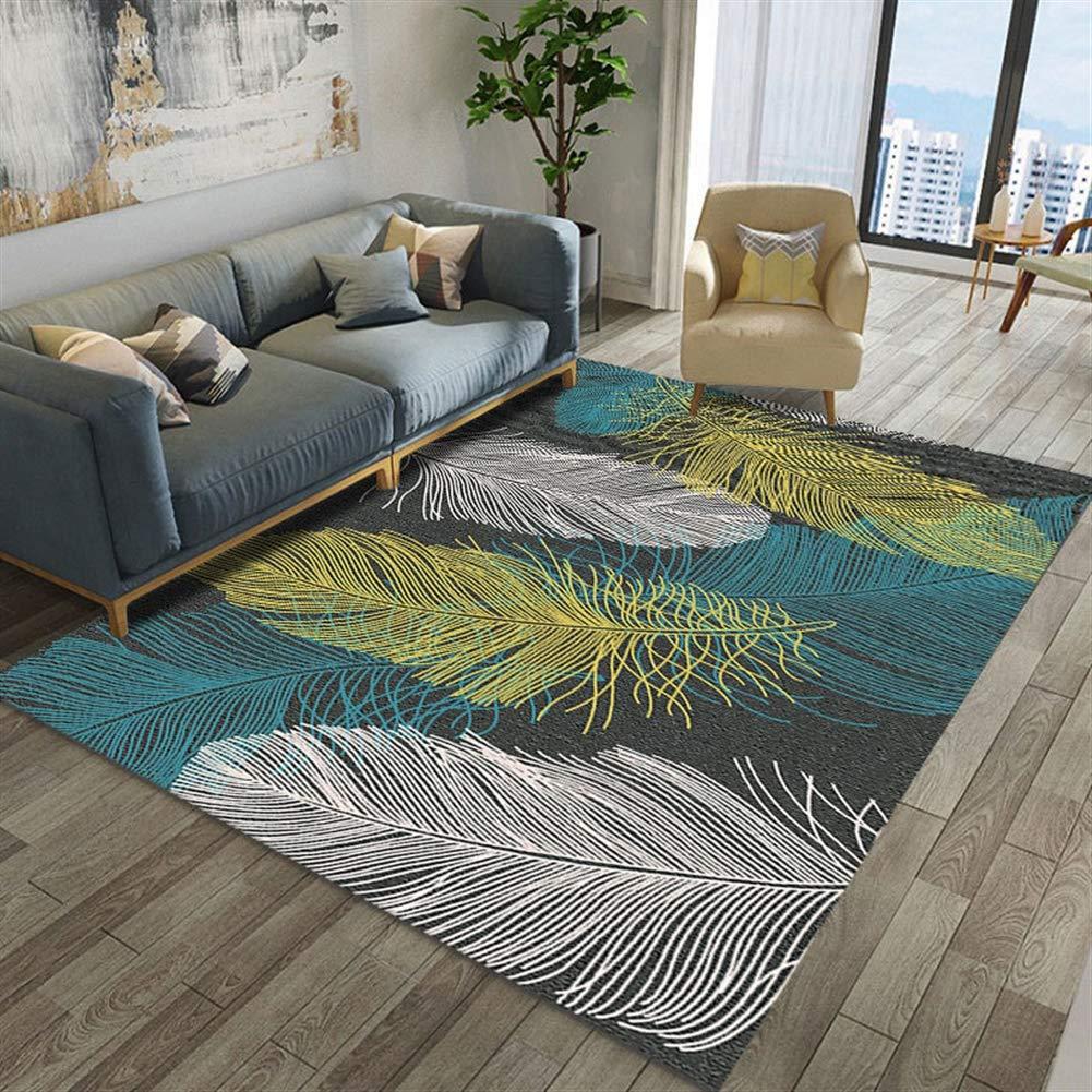 Icegrey Teppichboden Teppichboden Teppichboden des Wohnzimmers Schlafzimmer 120x160cm Stil 10