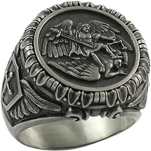 Anillo Secretium de plata fina artesanal con la imagen del