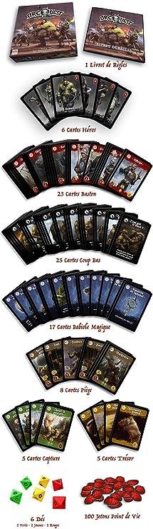 Maze Games- Orc Quest Juegos de Cartas, MZG0002: Amazon.es: Juguetes y juegos