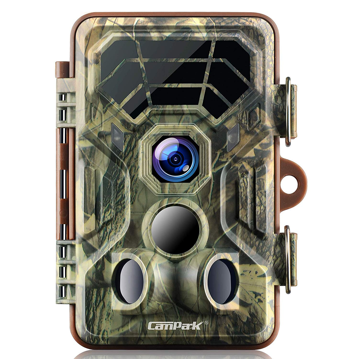 Campark Trail Game Camera 1080P Night Vision Waterproof Hunting Scouting Cam for Wildlife Monitoring with 120°Detecting…