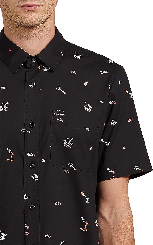 Volcom Party Pieces S/S Camisa, Hombre: Amazon.es: Ropa y ...