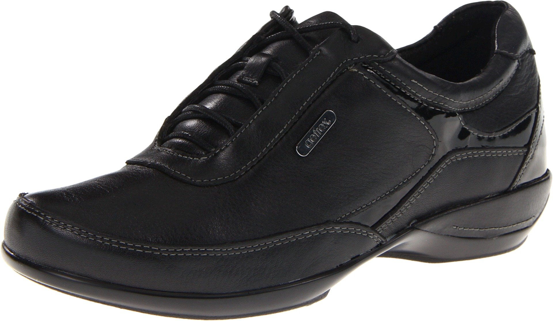 Aetrex Women's Holly Lace-Up Oxford, Black, 5 M US by Aetrex