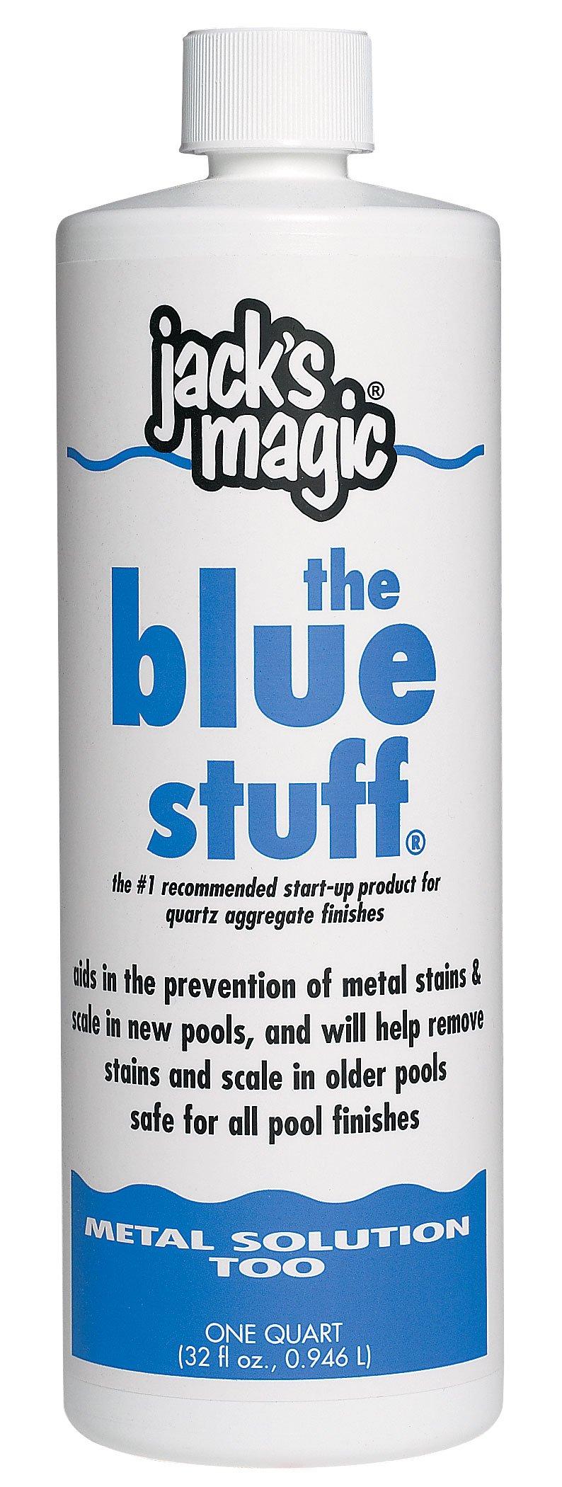 Jack's Magic The Blue Stuff Pool Metal Remover - 2 x 1 Quarts