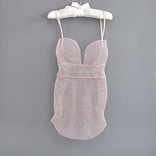 Amazon Com Wire Mesh Pink Dress Modern Metal Art 3d Wall Art