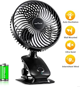 KEYNICE Clip on Fan