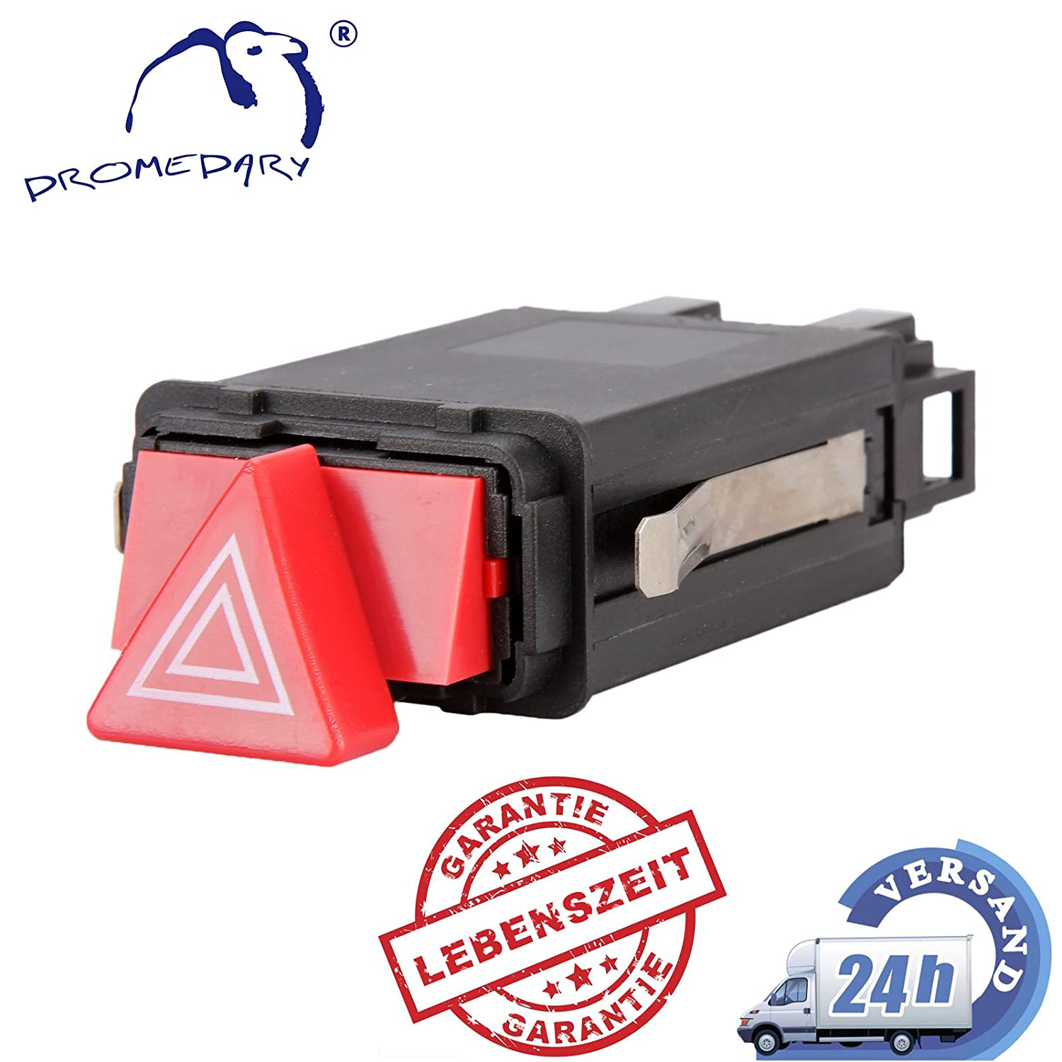 Dromedary Hazard Warning Light Switch Flasher Relay 8D0941509H Dromedary Autoparts