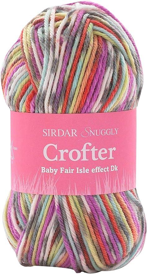 Sirdar SNUGGLY BABY CROFTER DK Knitting Wool//Yarn 50g 146 Mimi
